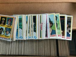 1978 Topps Baseball Pick Your Card to Complete Set Choose 50