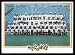 1978 TOPPS BLUE JAYS TEAM CARD/CHECKLIST #626 NM HI-GRADE SE