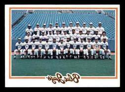 1978 TOPPS BLUE JAYS TEAM CARD/CHECKLIST #626 NM-MT HI-GRADE