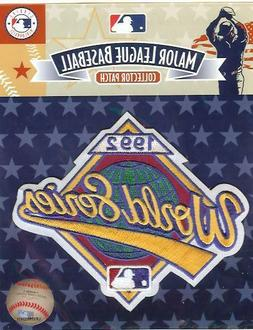 Emblem Source 1992 MLB World Series Logo Patch