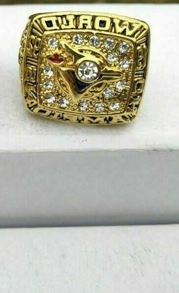 1992 Toronto Blue Jays World Series Championship Ring 18k Go