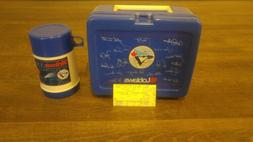1993 SGA Toronto Blue Jays Lunchbox and Thermos With Ticket.