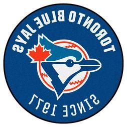"1993 Toronto Blue Jays Retro Collection 27"" Roundel Area Rug"