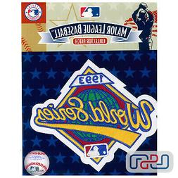 1993 World Series Toronto Blue Jays Official Game MLB Sleeve