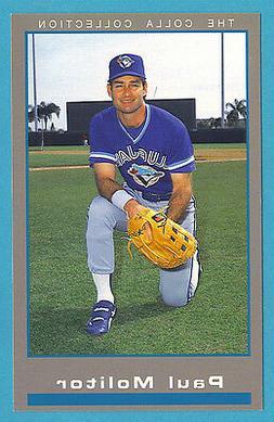 1994 Barry Colla Postcards Paul Molitor