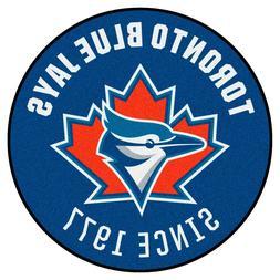 "1997 Toronto Blue Jays Retro Collection 27"" Roundel Area Rug"