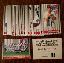 1998 Dunedin 32-Card Team Set  Serial # Ltd Edition