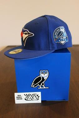 2013 NEW ERA OVO DRAKE TORONTO BLUE JAYS FITTED CAP HAT & BO