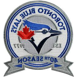 2016 Toronto Blue Jays 40th Anniversary Season Patch Sleeve