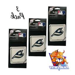 3x Toronto Blue Jays *AIR FRESHENERS* MLB Licensed Forest Pi
