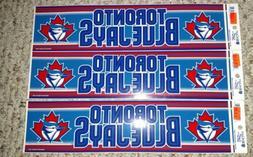 Authentic MLB Bumper Sticker Vintage Toronto Blue Jays Wincr