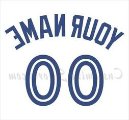 Baseball Toronto Blue Jays Customized Number Kit 2012-Presen