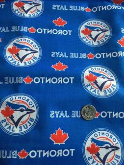 Cotton Toronto Blue Jays MLB Baseball Team Cotton Fabric Pri