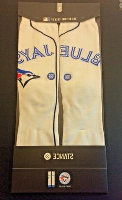 STANCE Crew Socks Toronto Blue Jays MLB Women Mens Medium 6-