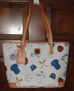 DOONEY & BOURKE TORONTO BLUE JAYS MLB CHARLESTON SHOPPER TOT