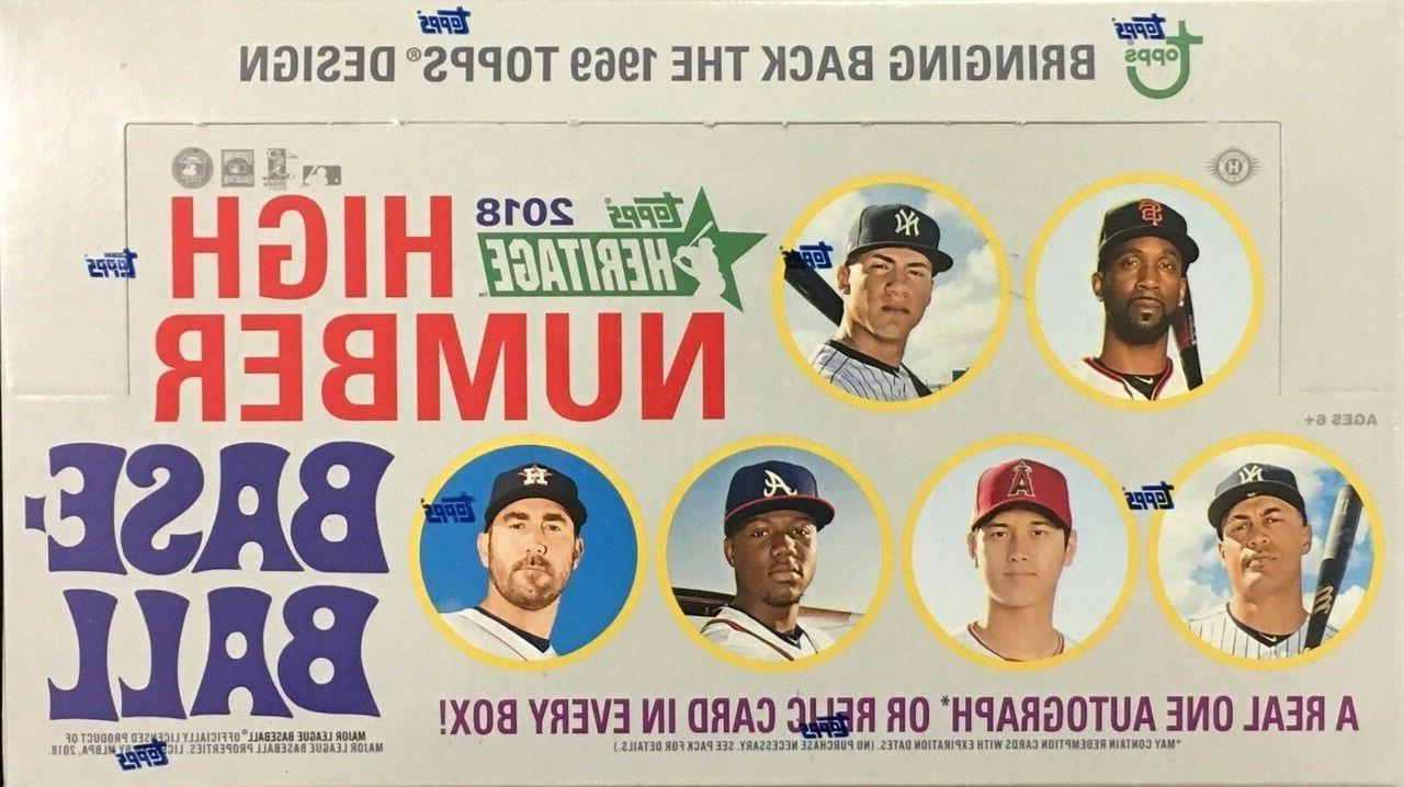 2018 topps heritage high number singles base