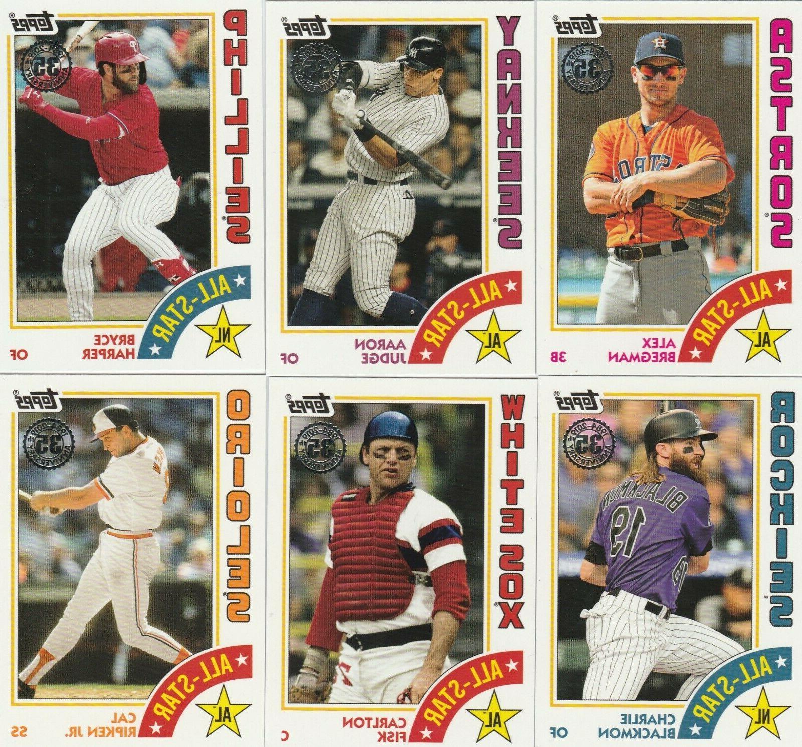 2019 topps series 2 baseball 1984 topps