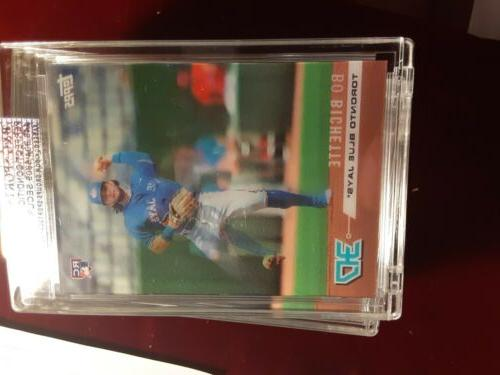 BO BICHETTE ON 3D /750 MOTION INSERT TORONTO BLUE JAYS