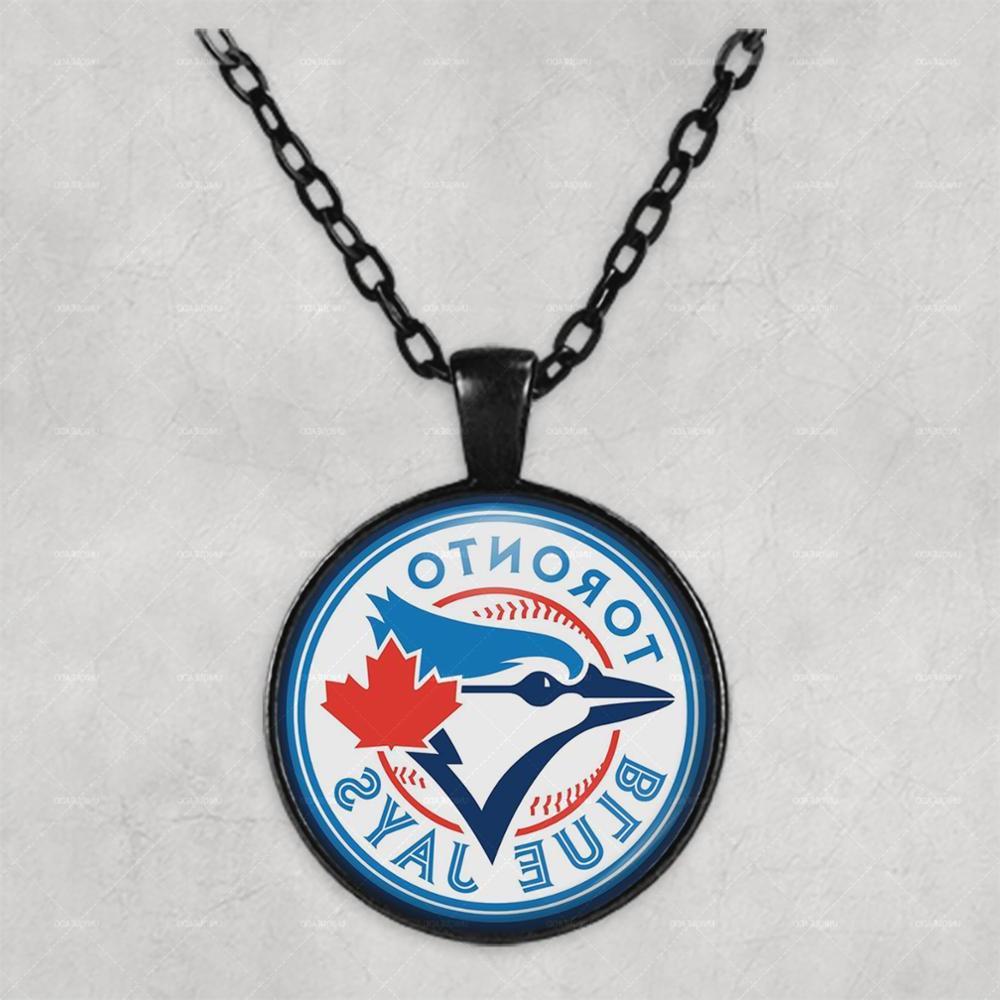 <font><b>Toronto</b></font> <font><b>Blue</b></font> <font><b>Jays</b></font> Photo <font><b>Necklace</b></font> Birthday Gift cute for her