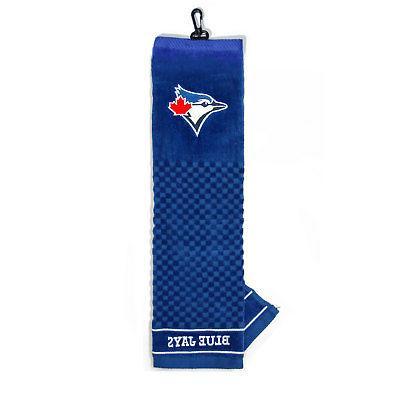 mlb toronto blue jays golf towel embroidered