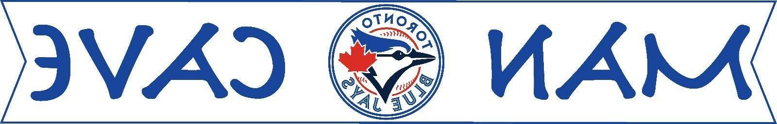 MLB Toronto Blue Logo Decal Sport Baseball Man Cave Home