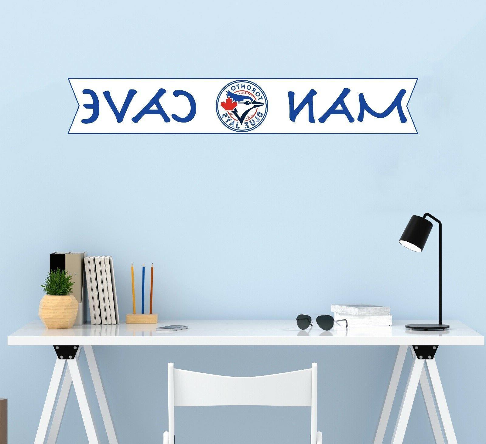 MLB Blue Logo Wall Decor