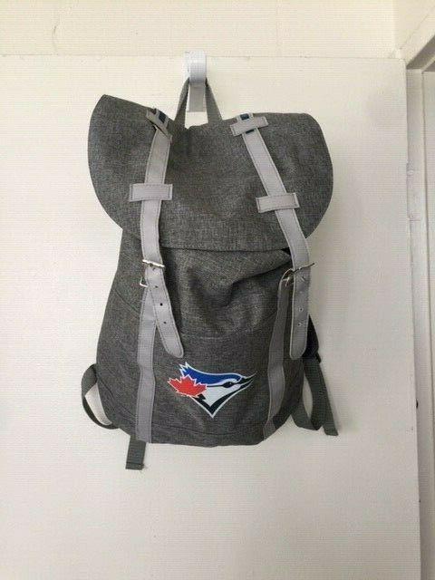 toronto blue jays backpack draw string baseball