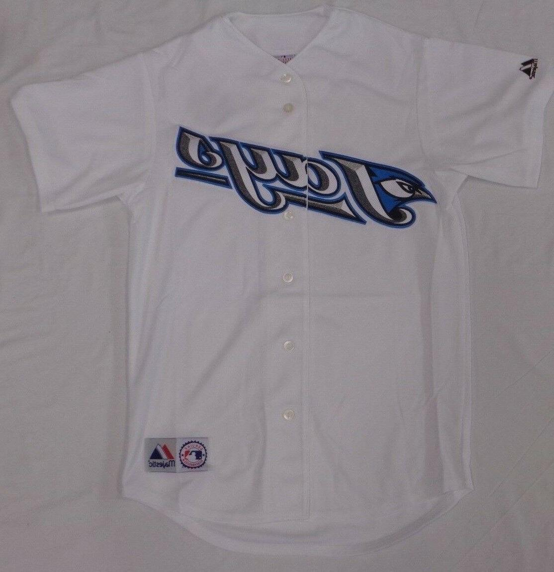 toronto blue jays baseball throwback blank sewn