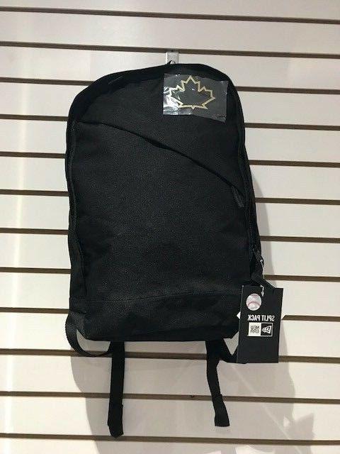toronto blue jays black split pack backpack
