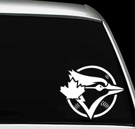 toronto blue jays logo car window wall