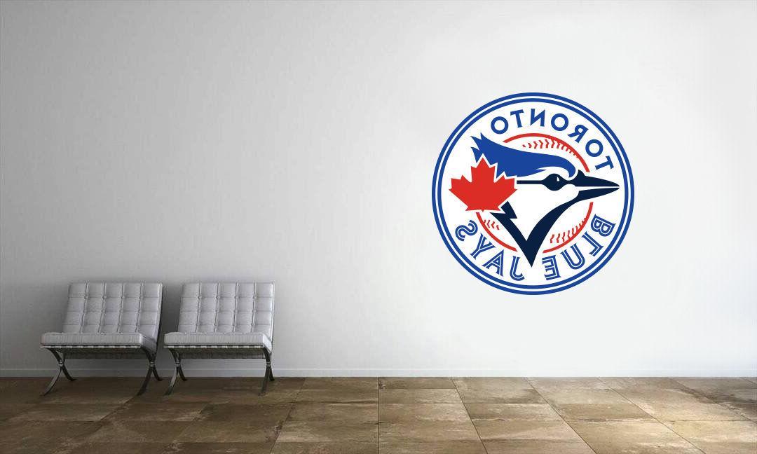 toronto blue jays logo wall decal mlb