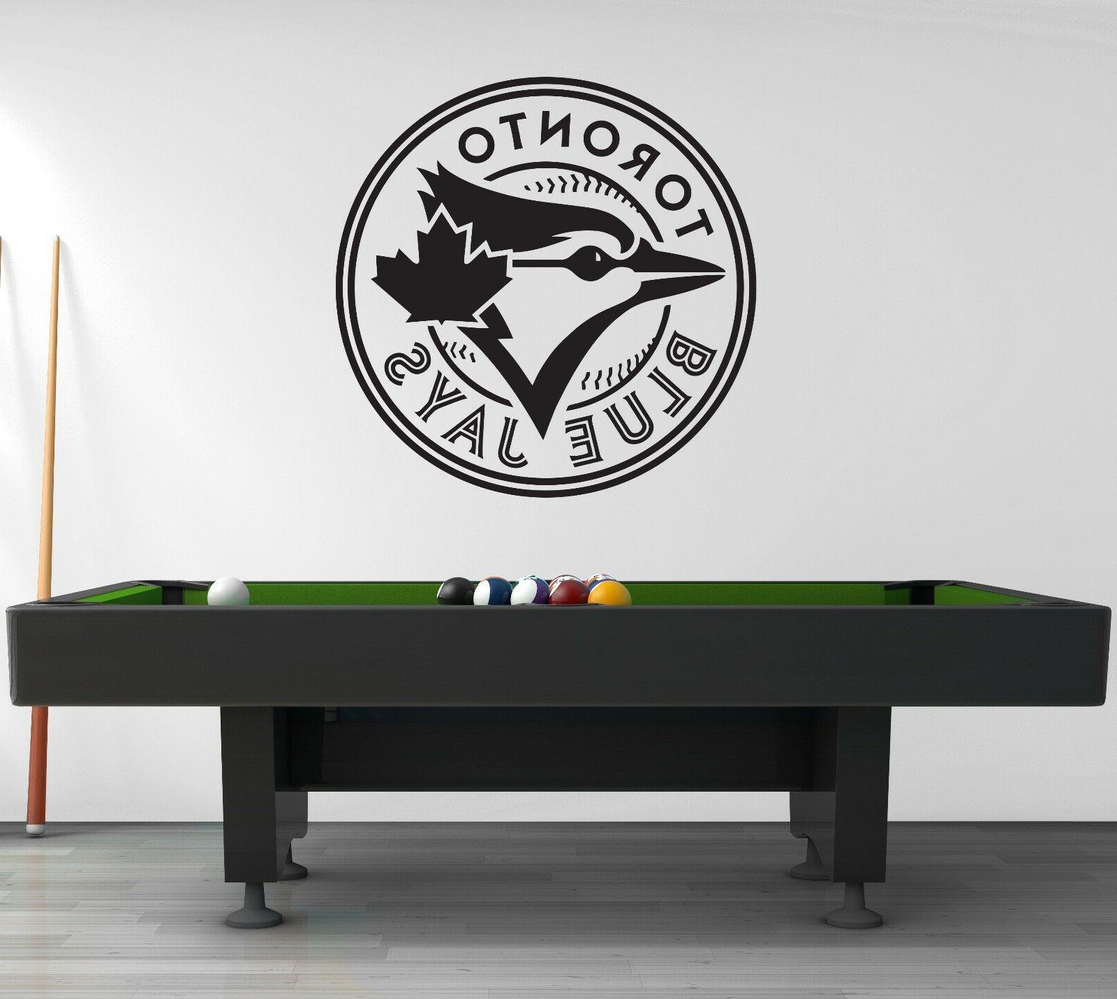 Toronto Jays Wall Sport Sticker Black CG493