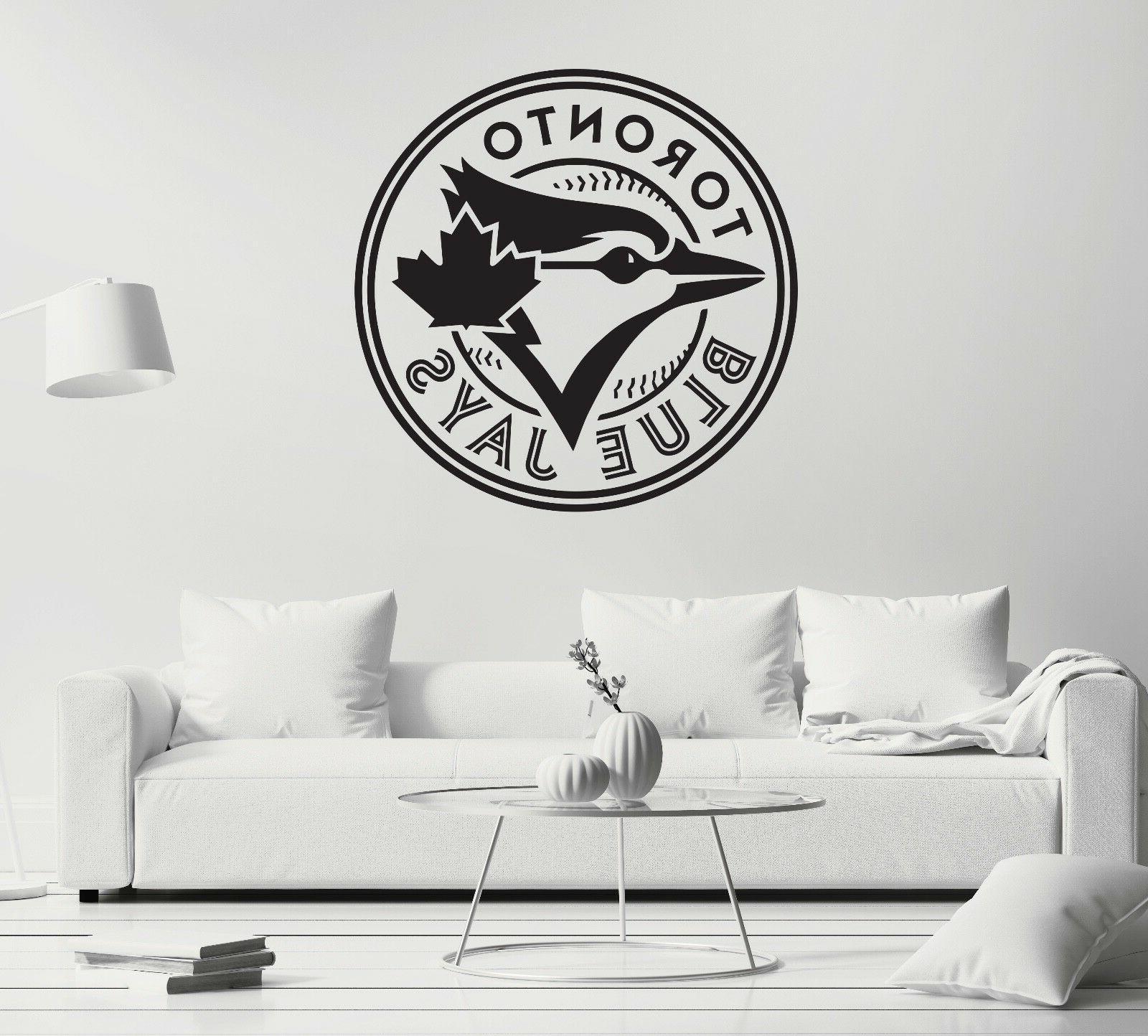 Toronto Wall Sticker Black Vinyl CG493