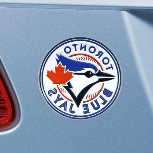 Toronto Chrome Auto Emblem Decal