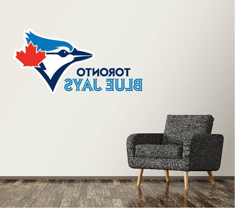 toronto blue jays wall decal logo baseball
