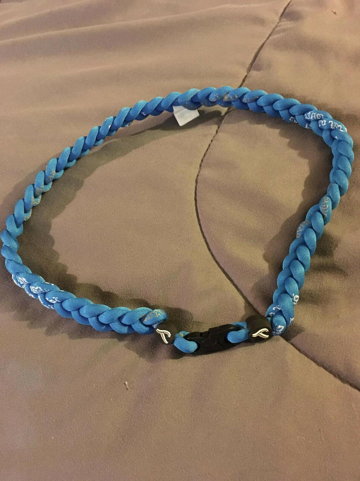 toronto triple rope titanium team necklace 22