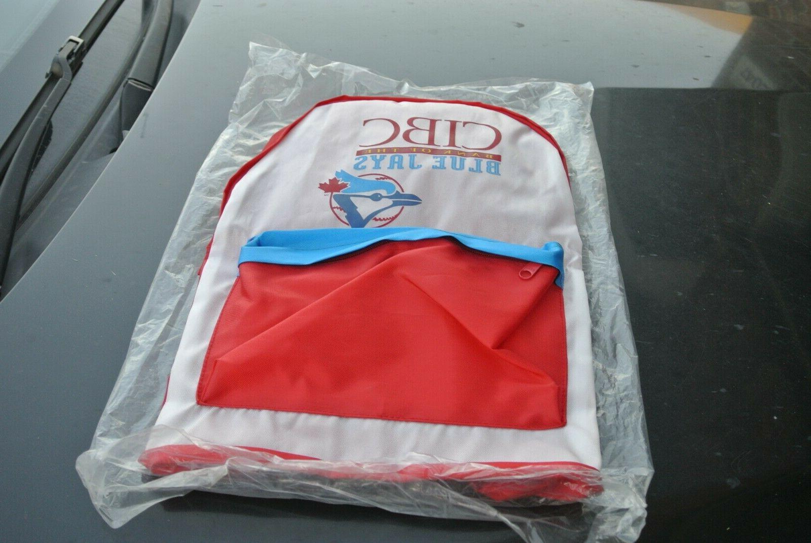 vintage new 1993 toronto blue jays backpack