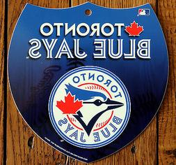 Licensed MLB Plastic Toronto Blue Jays Interstate Sign Wall