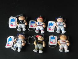 Lil Sports Brat MLB Key Chains 1986 - YOU CHOOSE White Sox ~