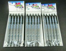 Lot of 3 Toronto Blue Jays MLB Pens Click Style 5 Pack Black