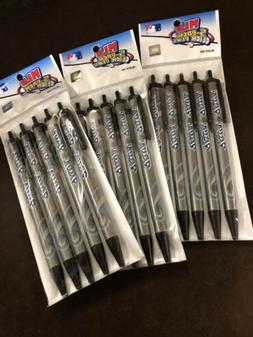 Lot of 3 Toronto Blue Jays MLB Pens Click Style 5 Pack Black