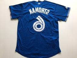Marcus Stroman #6 Toronto Blue Jays Jersey Men Size L Large