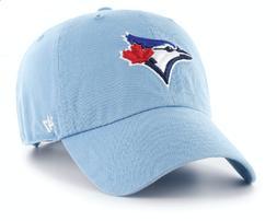 Men's Toronto Blue Jays 47 Brand Powder Blue Clean Up Adjust