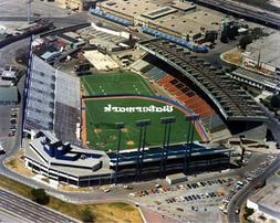 MLB 1980's Exhibition Stadium Toronto Blue Jays Aerial View