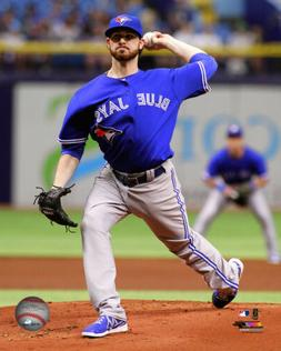 MLB Baseball Drew Hutchison Toronto Blue Jays Framed Photo P