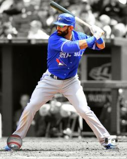 MLB Baseball Jose Bautista Toronto Blue Jays Framed Photo Pi