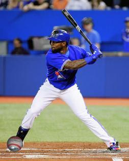 MLB Baseball Jose Reyes Toronto Blue Jays Framed Photo Pictu