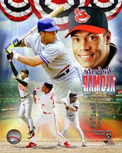 MLB Baseball Roberto Alomar Toronto Blue Jays Framed Photo P