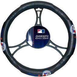 MLB Baseball Toronto Blue Jays TBJ Steering Wheel Cover Bran