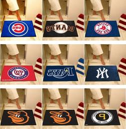 "MLB Bath Mat Shower Area Rugs 34"" x 43"" Choose Your Team"